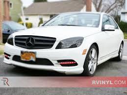 Rtint® Mercedes-Benz C-Class Sedan 2005, 2008-2011 Headlight Tint ...