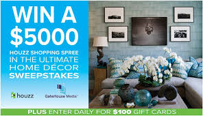 ultimate home decor sweepstakes contests and promotions wicked