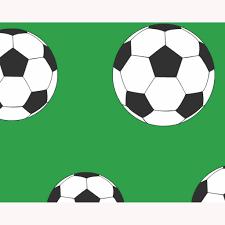 Voetbal Behang Groen