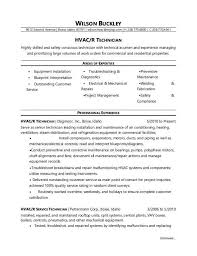 10 Hvac Technician Resume Selected Samples Www Mhwaves Com