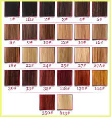 Wig Hair Color Chart 1793 Hair Color Chart Tutorials