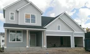 Grey Vinyl Board And Batton Grey Vinyl Siding White LP SmartSide - Exterior vinyl siding