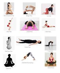 yoga poses list