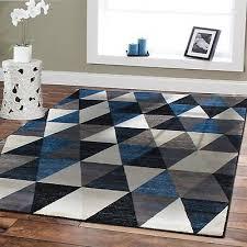 large triangle area rugs 8x10 blue floor rug 5x8 modern rugs 2x3 carpet door mat