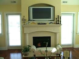above fireplace fireplaces mantels tv over design ideas on decorating decoration for the