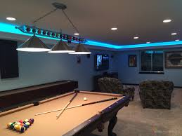 man cave lighting. Man Cave Game Room LED Lighting Contemporary-family-and-games-room C