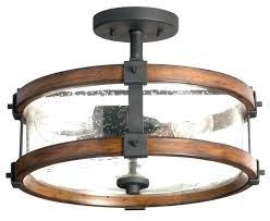 ceiling fans kichler ceiling fan light kit ceiling lights distressed wood glass semi flush mount