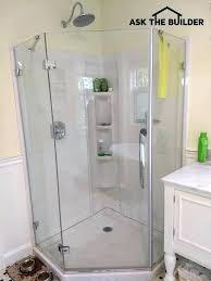 custom glass shower walls and doors door surrounds wall panels are how to clean bathrooms scenic