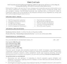 Safety Officer Resume Sample Collection Of Solutions Firefighter Resume Objective Firefighter