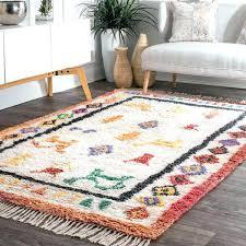 wool rugs handmade tribal drawings ivory blend rug reviews nuloom