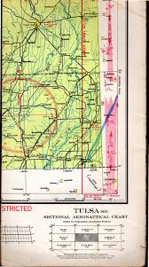 Sectional Aeronautical Chart Map Tulsa Oklahoma S 6 Sectional