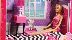 barbie doll and bedroom furniture set cfb60 md toys youtube barbie bedroom furniture