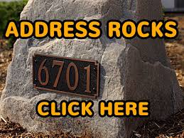 Decorative House Numbers Similiar Stonehouse Number Lawn Sign Keywords