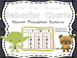 Star Wars Behavior Chart Behavior Charts Star Wars Themed Behavior Management Resources