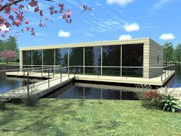 Floating House Plans Contemporary Architecture Ideas For Lake Houses Plans With Black