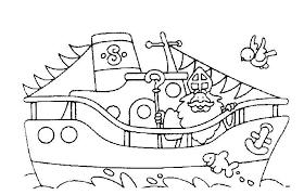 Stoomboot Sinterklaas Kleurplaat Google Zoeken Thema Sinterklaas
