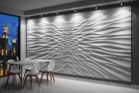 features of 3d gypsum wall panels