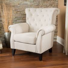 high back living room chairs discount. christopher knight home franklin tufted light beige fabric club chair - overstock™ shopping great deals on living room chairs high back discount