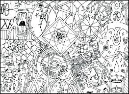 Black Hole Coloring Page Psychedelic Pages Image High Resolution
