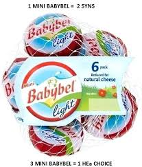babybel light cheese light
