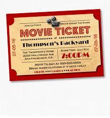 Movie Invitation Template Free Invitation Template Movie Ticket Valid Movie Ticket Party Invitation 24
