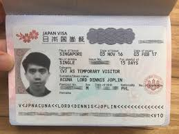 Japan Sale Visa Tourist good Quality For
