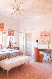 A Little Christmas Decor in Addison's Coral Girl's Bedroom with Shaw Floors.