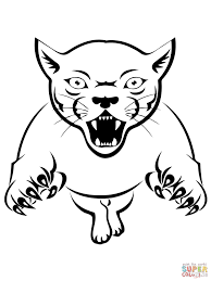 cougar coloring pages free best of mountain