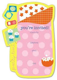 Free Printable Slumber Party Invitation Templates Free
