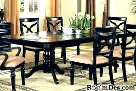 dark wood dining table 6 chairs black and wood dining table awesome black and wood dining table black granite dining room table sworth dark wood