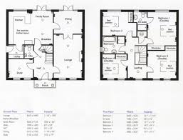 7 bedroom 2 story house plans new 4 bedroom 2 story floor plans lovely 2 story