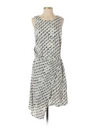 Details About Mossimo Women Ivory Casual Dress S