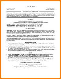 8 Resume Retail Skills Letter Setup