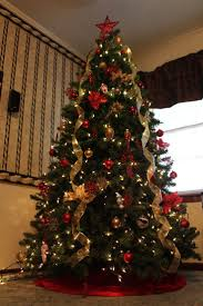 Full Size of Eff14f03cf7a9fd2f0154393028be34a Gold Christmas Tree Decorated  Christmas Trees Living Room Christmas Decorations Ideal Home ...