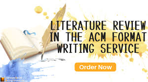 Lit Review Guidelines To Write An Acm Article In New Acm Format