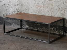 metal industrial furniture. Wood \u0026 Metal Industrial Coffee Table Furniture