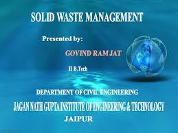 Solid Waste Management |Authorstream