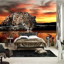<b>beibehang custom</b> photo <b>wallpaper High quality</b> leopard wall ...