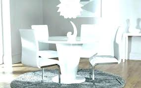 white gloss dining table white gloss dining table modern round great small and extending 6 chairs