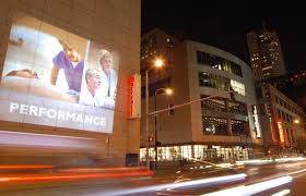mobile projection outdoor advertising