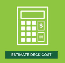 wood deck cost. Calculate Cost Of A Trex Composite Deck Wood N