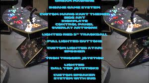 4 Player Arcade Cabinet Kit Mario Kart Pedestal 4 Player Arcade Machinemp4 Youtube