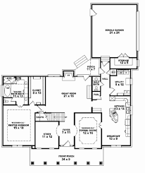 one half story house plans luxury e and a half story 4 bedroom 3 5 bath