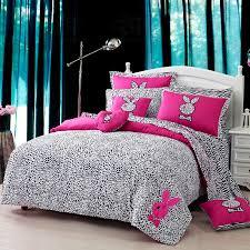 tuzki pink zebra print bedding set