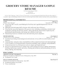 Clerk Resume Sample Grocery Store Cashier Resume Store Clerk Resume
