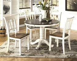 benchwright rustic x base 48 inch round dining table set and chairs dinning kitchen for appealing i