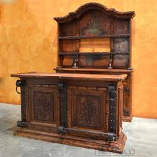 rustic spanish style furniture. barra agave rustic spanish style furniture m