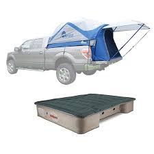 Napier Sportz 57 Series Long Truck Tent, Full & AirBedz Pro3 Truck Bed Air Mattress