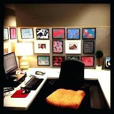 cubicle office decor. Simple Office Desk Decoration Ideas Decor Fun Enchanting Chic Cubicle