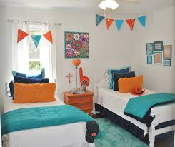 Orange And Blue Living Room Decor Orange And Blue Decor Stylish Decorating Ideas